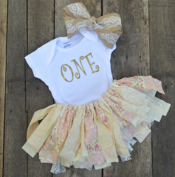 Shabby chic floral outfit fabric tutubirthday tutu1st - Shabby chic outfit ideas ...