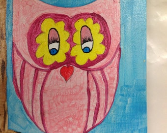 Perfectly Pink Owl