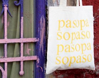 Tote bag PASOPA/PASOPA totebag