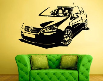 rvz1621 Wall Decal Vinyl Sticker Decals Car Auto Automobile Sedan