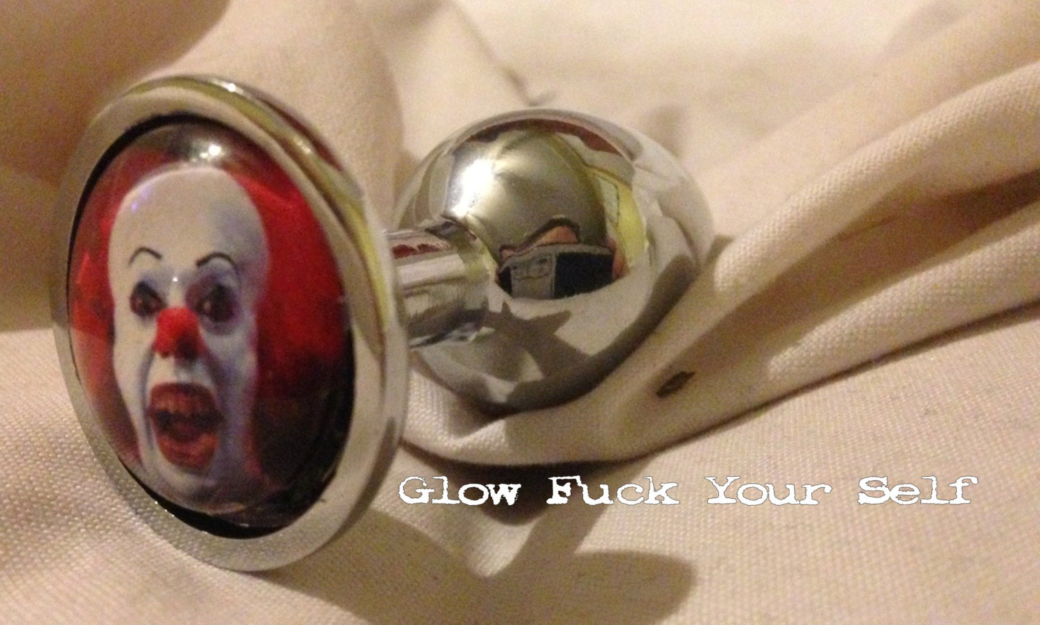 Mature Scary Clown Butt Plug Because Put It In Your Butt-7574