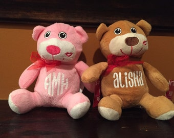 Personalized Valentine Stuffed Animals