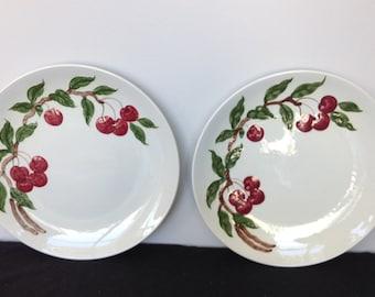 Orchard Dinnerware Cherry Pattern Dinner Plate - Only 1 Left!!