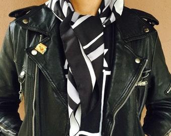 Vintage LANVIN Paris silk scarf