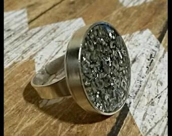 Zipper teeth ring