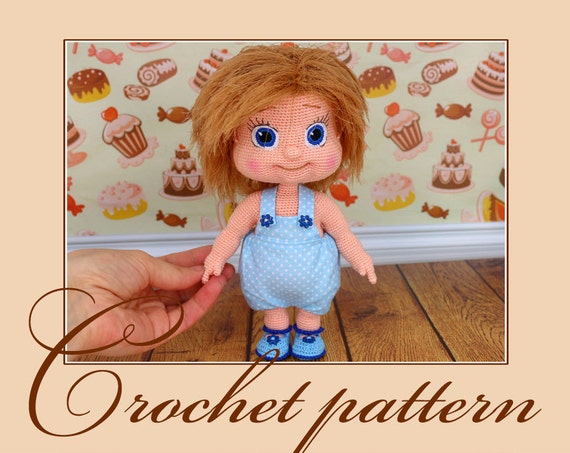 Alyonushka Amigurumi Crochet Pattern PDF file by Anna