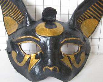 Bast Egyptian Black Cat Mask