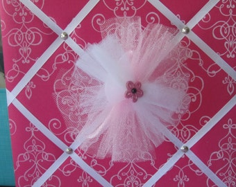 Flower Tulle Headband
