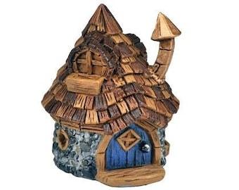 Micro cone top fairy house