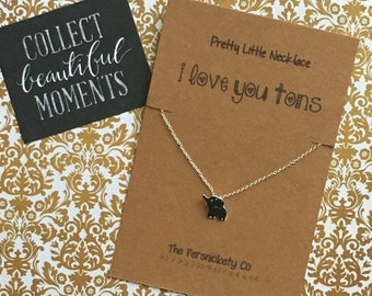 Pretty Little Necklace - I Love You Tons