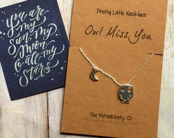 Pretty Little Necklace - Owl Miss You