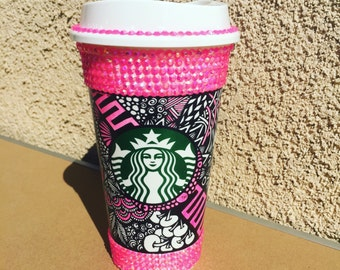 Blinged Hot Cup
