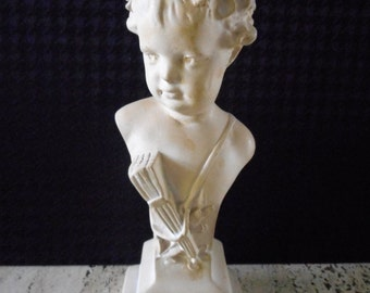 Vintage Plaster Bust of a Child