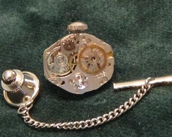 Tie Tack/Lapel Pin/Hat Pin, Free U.S. Shipping