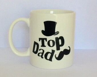 Top Dad Mug Father's Day/Birthday