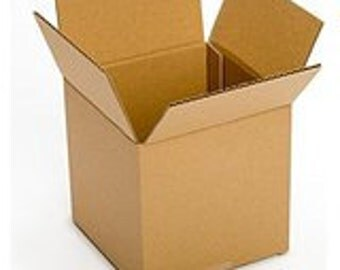 """Shipping Boxes 25 Pack 8"""" x 8"""" x 8"""" Single Wall 32 ECT Shipping Box, Storage Box, Moving Boxes"""
