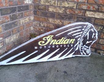 indian motorcycle art stone