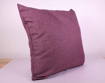 Outdoor Cushion Cover - Purple/Mauve (50cm x 50cm)