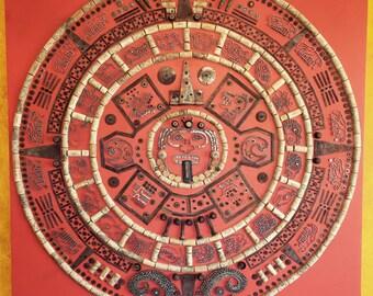 Aztec Calendar [assemblage]