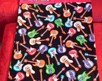 Guitar Pillow Case