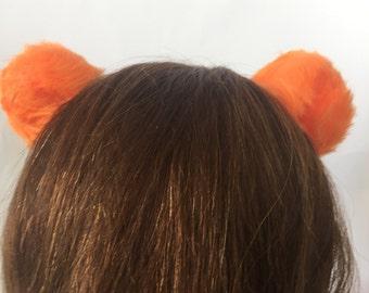 Orange Bear Ears