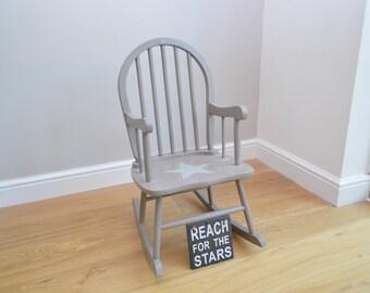 Star Child's Rocking Chair