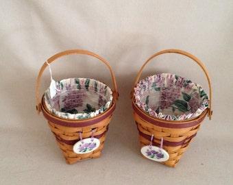 Individual OR Set of Longaberger Baskets