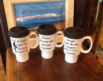 Funny Travel Mugs