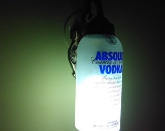Absolut Vodka frosted wall light fixtures
