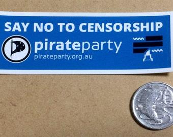 Censorship stickers