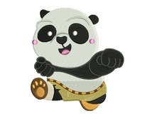 Kung Fu Panda Embroidery Design | Kungfu Panda Machine Embroidery Pattern | Kung Fu Panda Embroidery Pattern