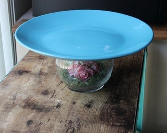 Bed Of Pink Roses Cake Stand