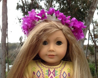 Purple flower crown for dolls *ONLY 1*
