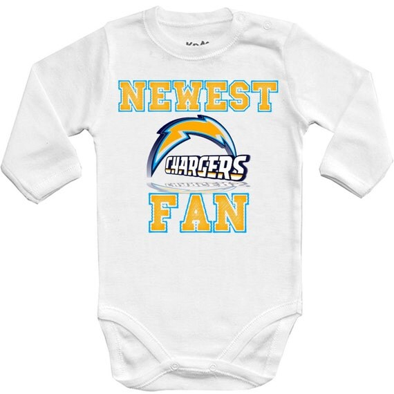 San Diego Chargers Baby Clothes: San Diego Chargers Newest Fan SD Baby Vest Baby By Deinash0p