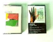 Genesis 2 80s Cassette Tapes - Abacab and Invisible Touch