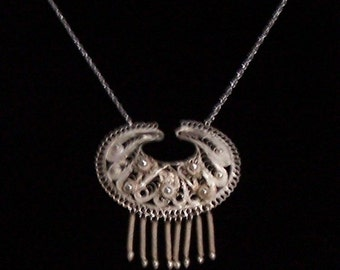 Vintage/Antique LOVELY Sterling Silver Necklace!