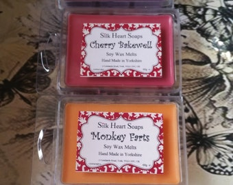 Clamshell Soy Wax Melt - Various Scents