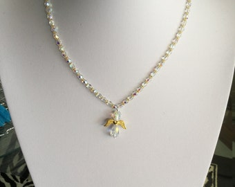 Crystal Angel Necklace