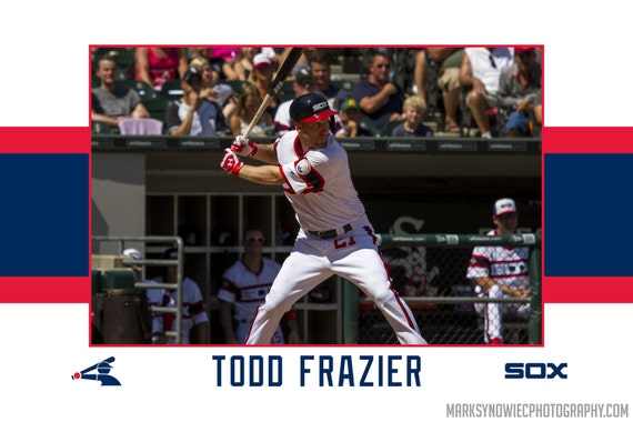 Todd Frazier Chicago White Sox Canvas Wrap