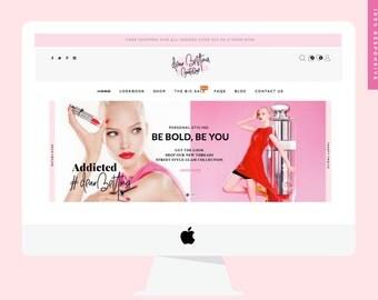 Premade Website // WordPress Website & Online Store // Small Business eCommerce Package // Web Design