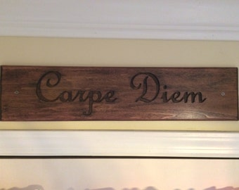 Customized Wood Sign - Text