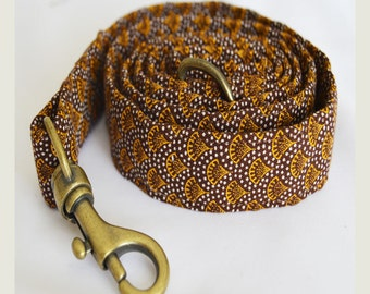 African Scallop Dog Leash