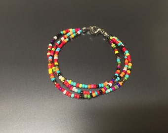 Multiple Color Seed Bead