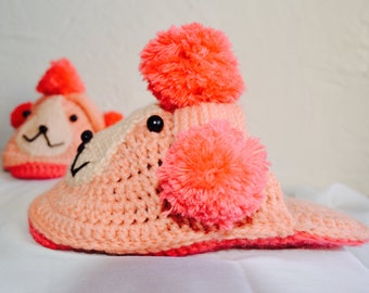 """poodle"" women slippers"