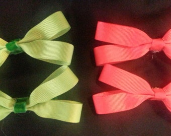 4 Inch Plain Color Bows