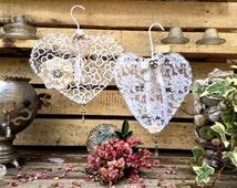 Wedding Decor, Shabby Chic Wedding, Bridal Shower Decor, Shabby Decor, Cottage Chic, Rustic Wedding Decor, Lace Wedding, Wedding Wreath