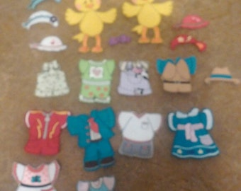"""Chick """"Paper Doll"""""""
