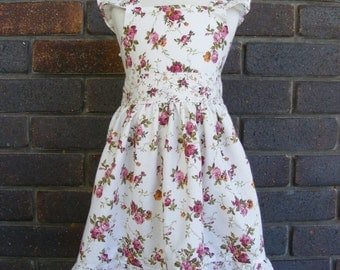 Girls Vintage Inspired Dress-Special Occasion- Birthday-Photo Prop