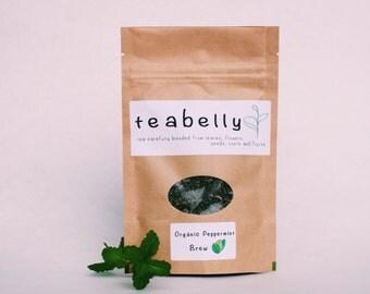Organic Peppermint Brew 15g teabelly Herbal Tea
