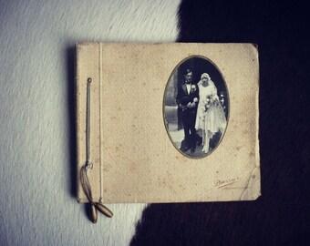 Album photos mariage 1920